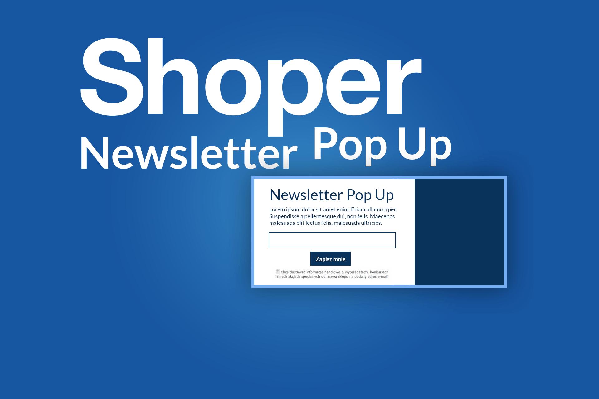 5380a170d31d97 Shoper newsletter popup - Blog